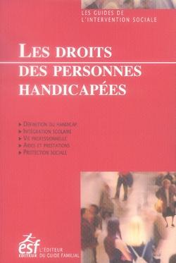 DROITS DES PERSONNES HANDICAPEES (LES)