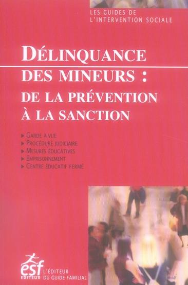 DELINQUANCE DES MINEURS