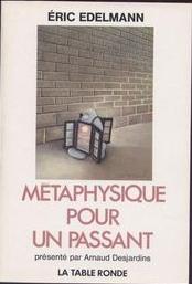 METAPHY POUR UN PASSANT