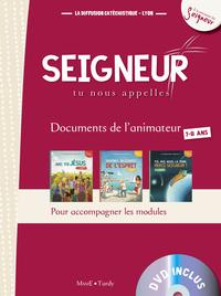 7-8 ANS - DOCUMENT ANIMATEUR ROUGE +DVD - MODULE 1 A 3