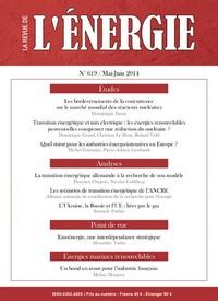 LA REVUE DE L'ENERGIE N 619 - MAI/JUIN 2014