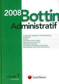 BOTTIN ADMINISTRATIF 2008 AVEC CD-ROM