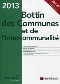 BOTTIN DES COMMUNES ET DE L'INTERCOMMUNALITE 2013. V2