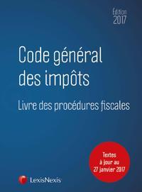 CODE GENERAL DES IMPOTS 2017