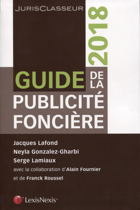 GUIDE DE LA PUBLICITE FONCIERE 2018