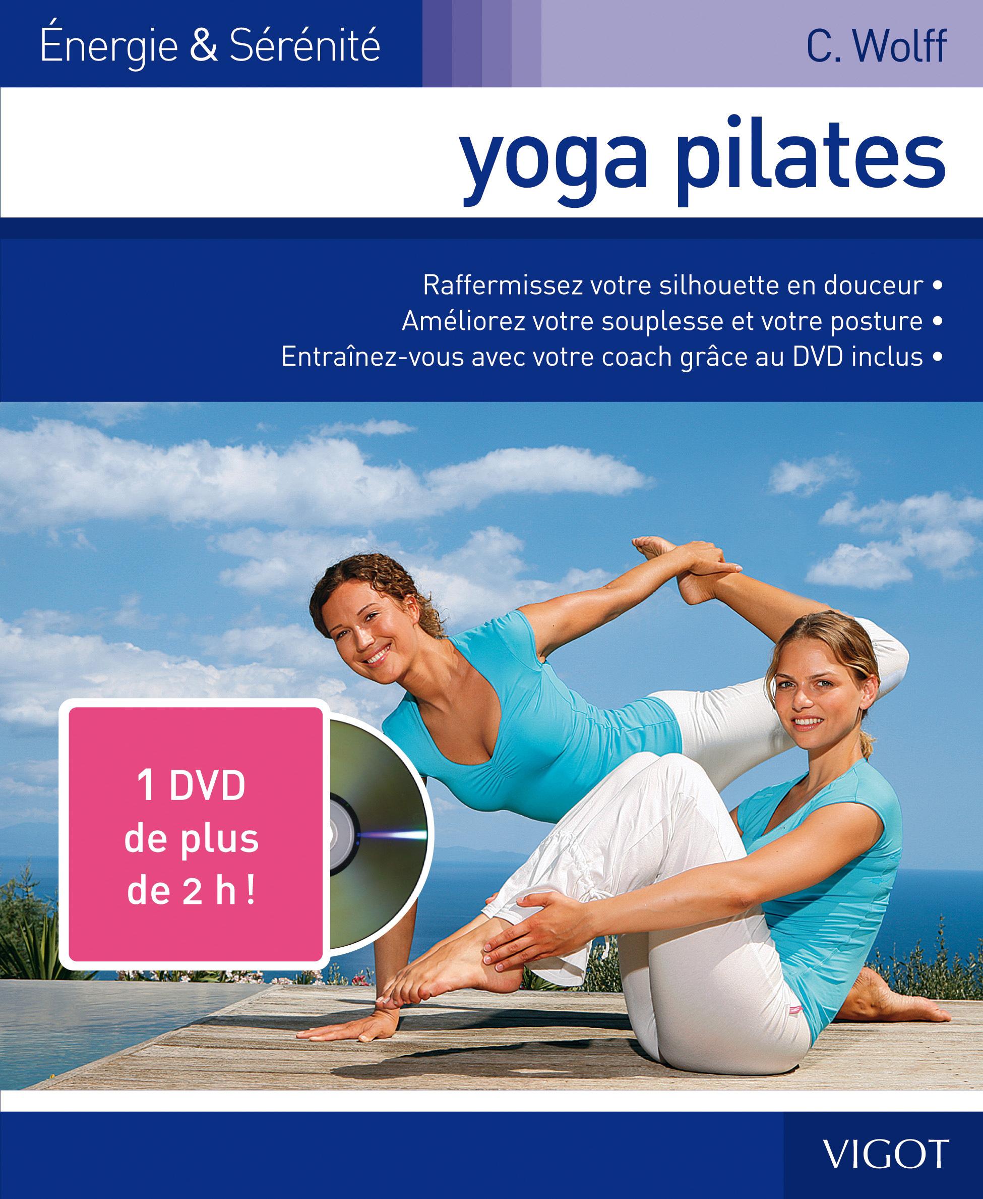 DVD AVEC YOGA PILATES