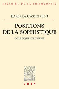 POSITIONS DE LA SOPHISTIQUE