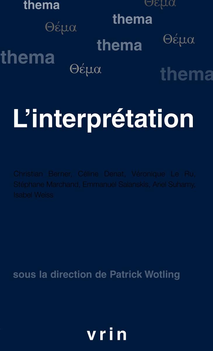 L INTERPRETATION