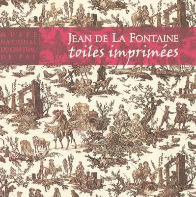 JEAN DE LA FONTAINE TOILE IMPRIMEES