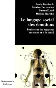 LE LANGAGE SOCIAL DES EMOTIONS
