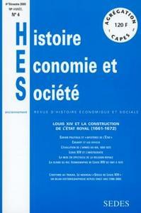 HISTOIRE, ECONOMIE ET SOCIETE 4 /2000