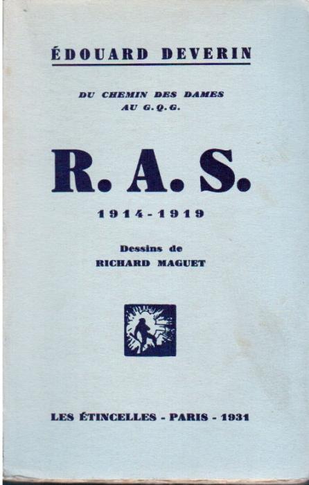 R A S DU CHEMIN DES DAMES AU GQG 14 18