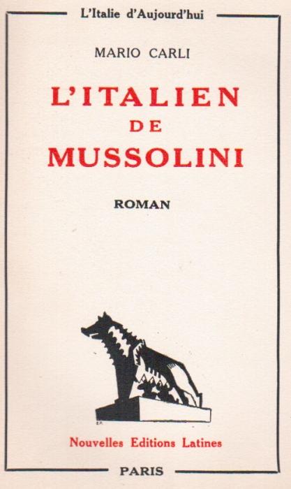 L  ITALIEN MUSSOLINI
