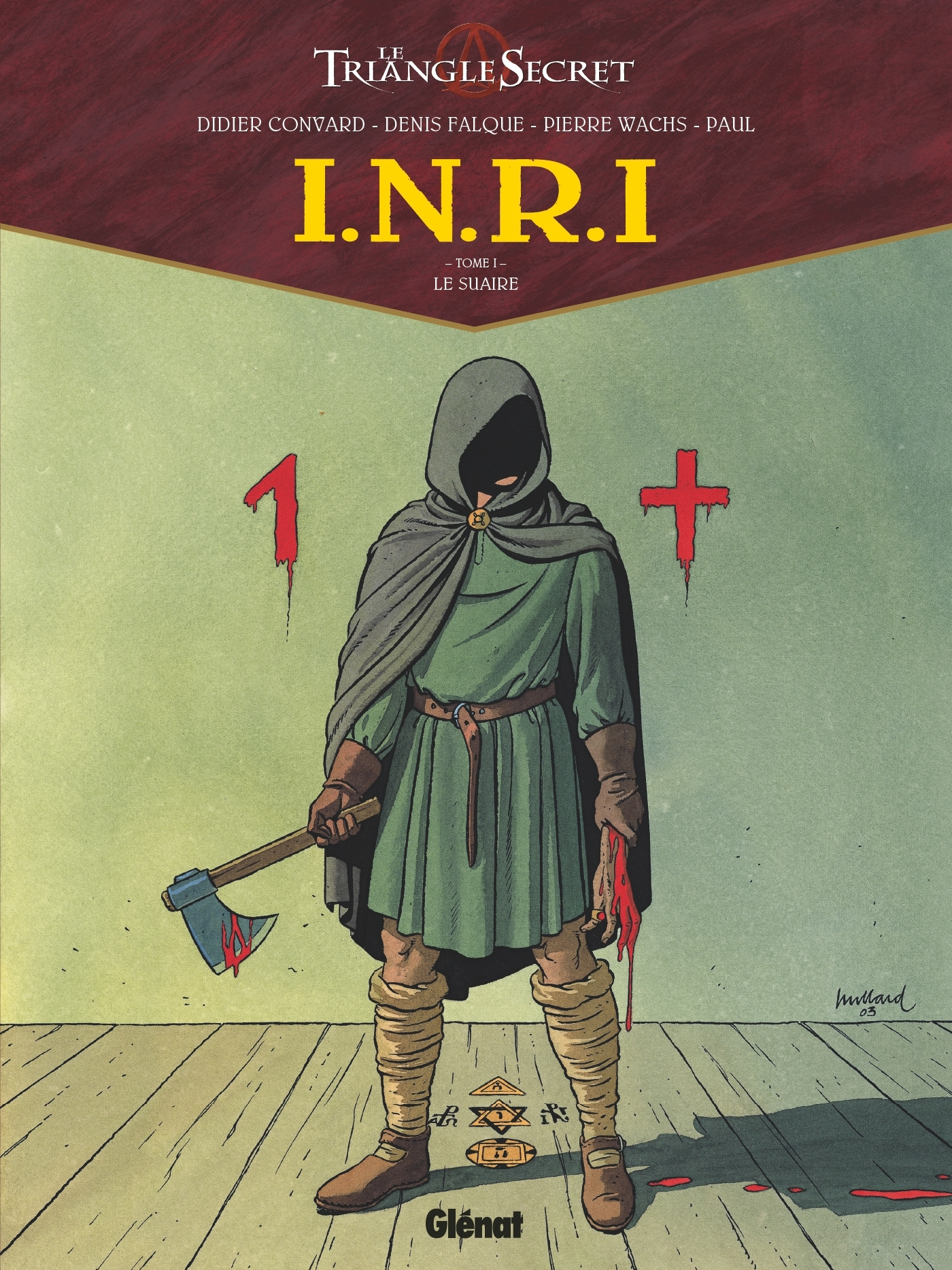 I.N.R.I - TOME 01 - LE SUAIRE