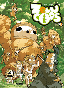 ZBLUCOPS - TOME 03 - SAMOURAI ET FINES HERBES