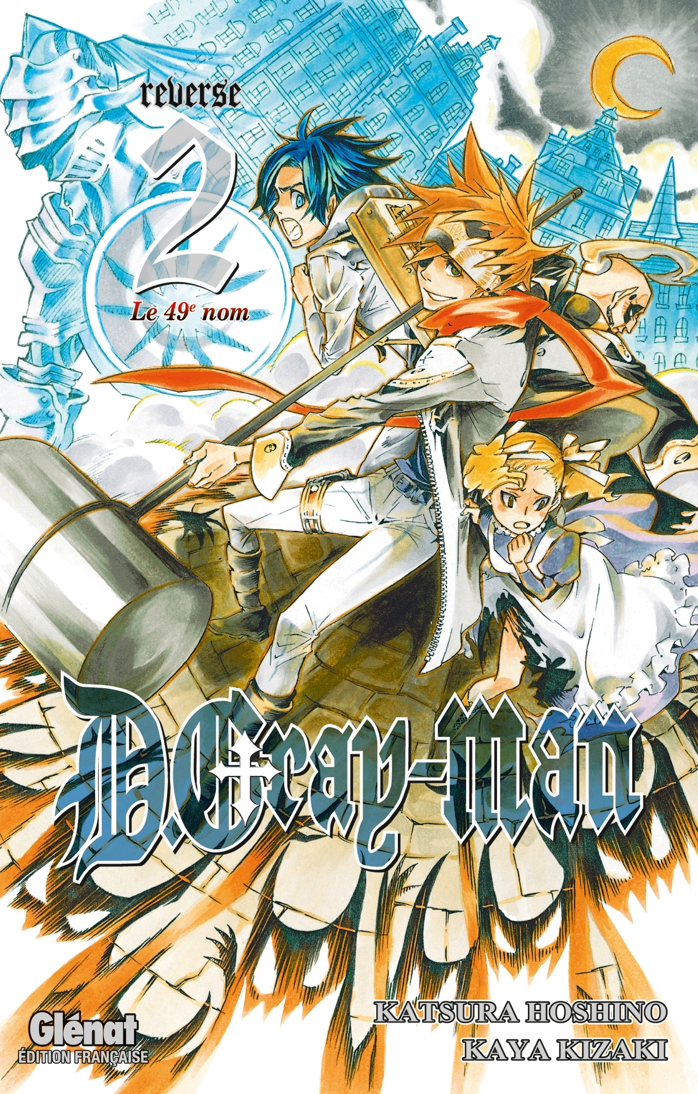 D.GRAY-MAN REVERSE - TOME 02
