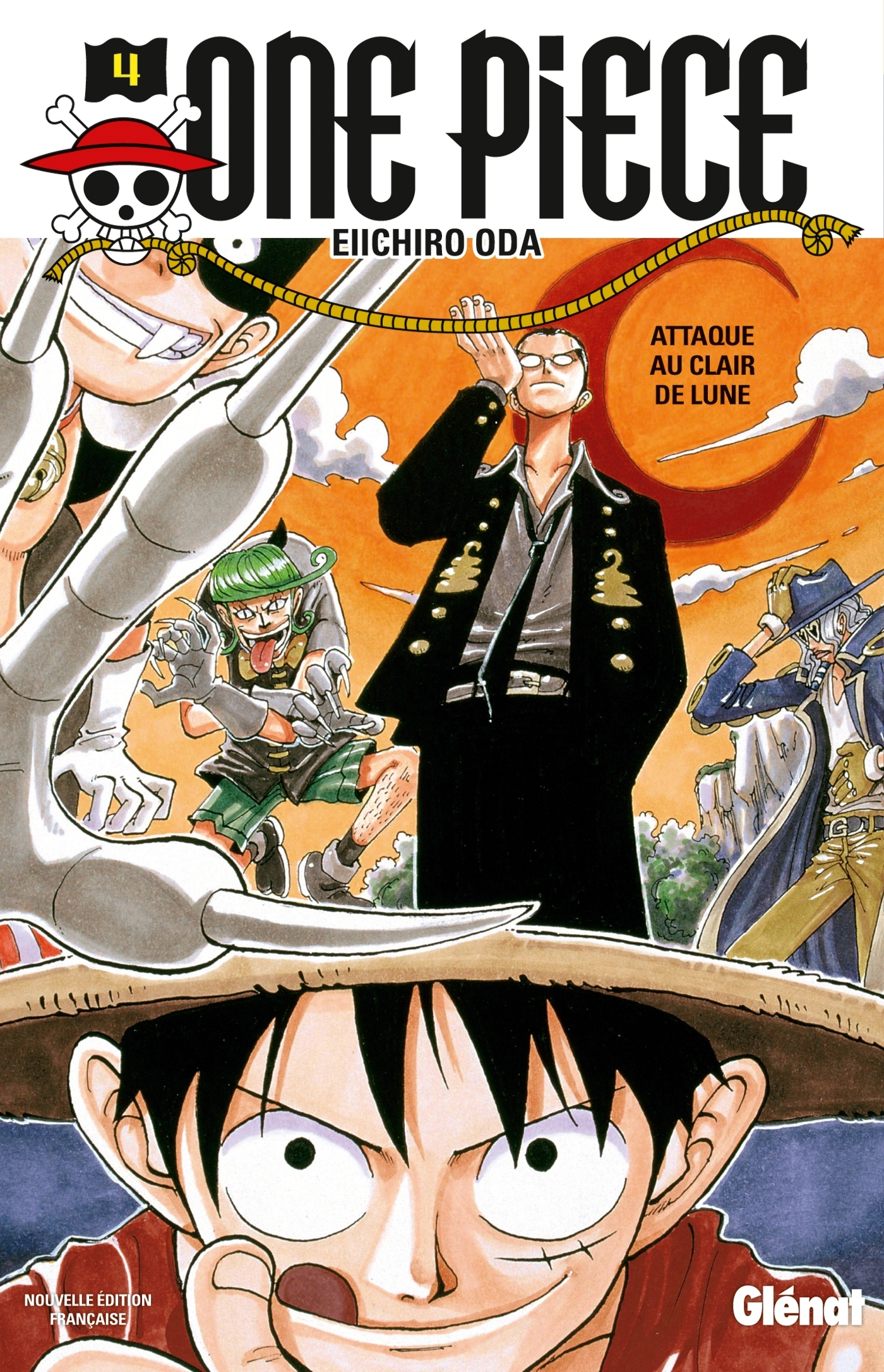 ONE PIECE - EDITION ORIGINALE - TOME 04 - ATTAQUE AU CLAIR DE LUNE