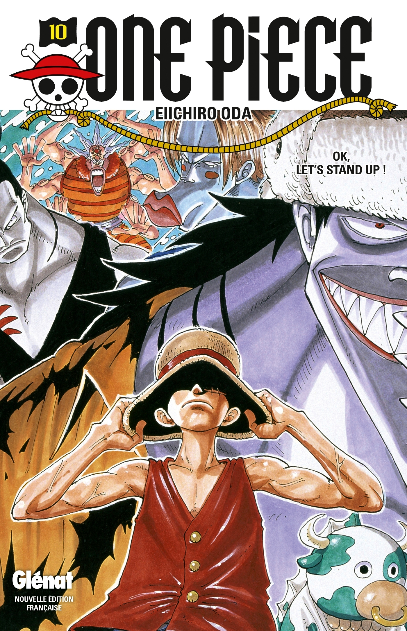 ONE PIECE - EDITION ORIGINALE - TOME 10 - OK, LET'S STAND UP !