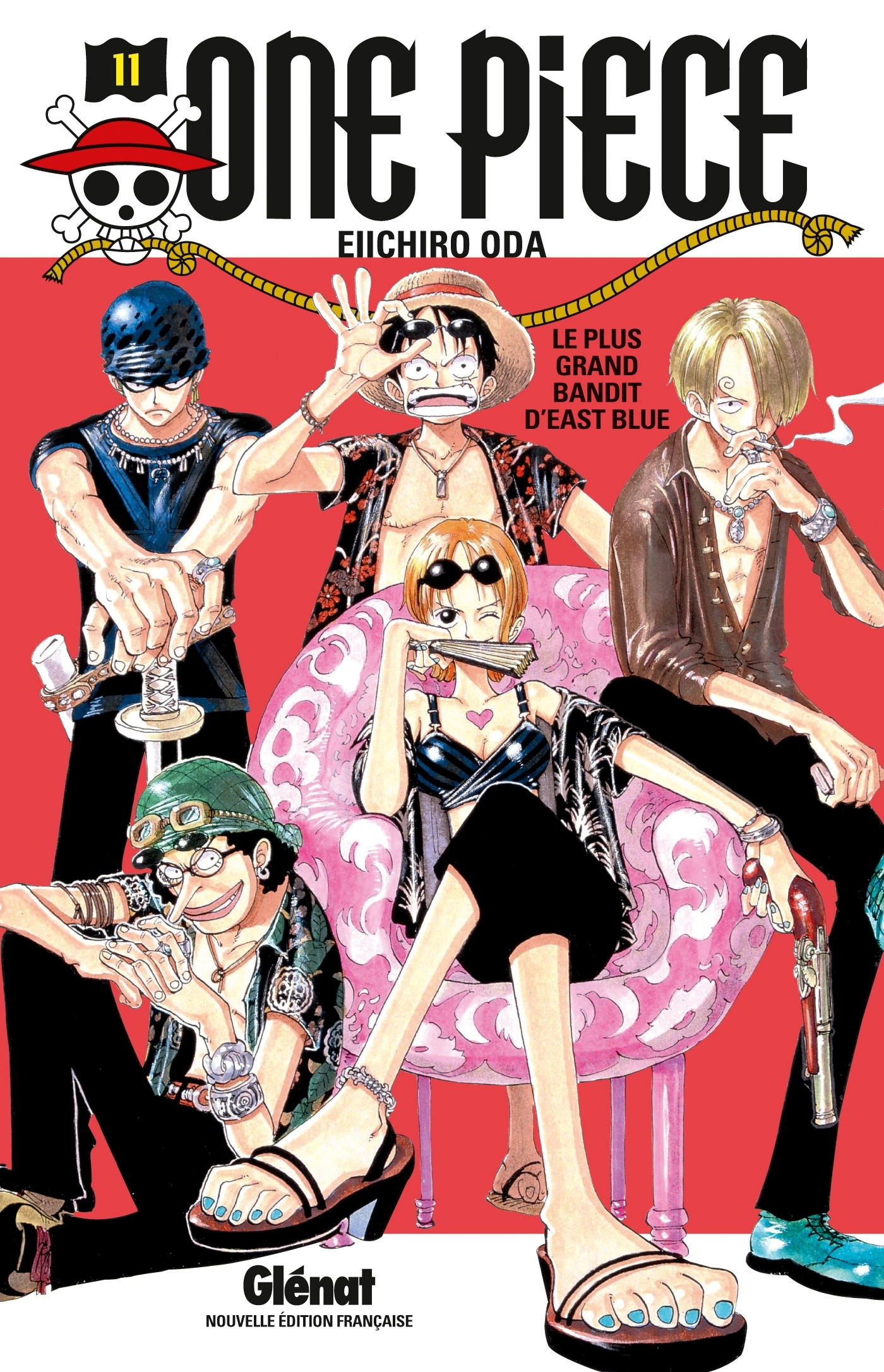 ONE PIECE - EDITION ORIGINALE - TOME 11 - LE PLUS GRAND BANDIT D'EAST BLUE