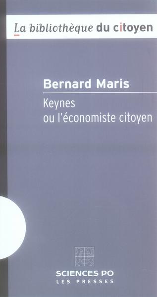 KEYNES OU L ECONOMISTE CITOYEN 2ED
