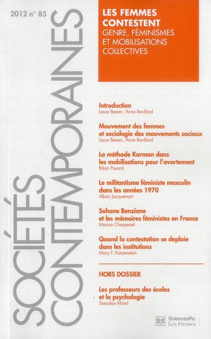 SOCIETES CONTEMPORAINES 85