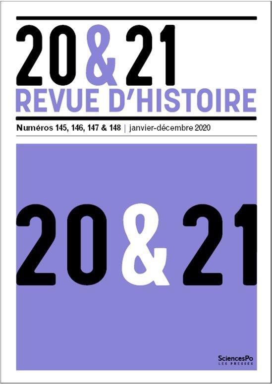 20&21. REVUE D'HISTOIRE 147