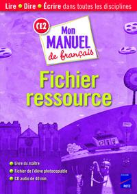 MON MANUEL DE FRANCAIS CE2 FIC
