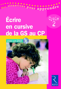 ECRIRE EN CURSIVE GS CP + DVD