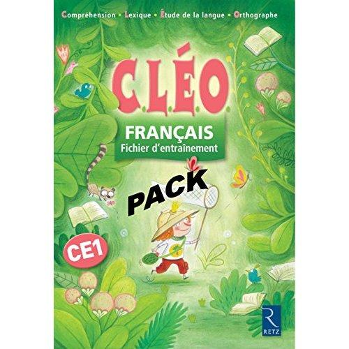 PACK DE 6 FRANCAIS CE1 CLEO FI