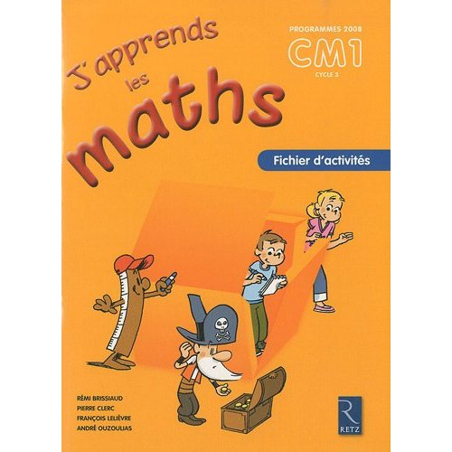 J APPRENDS MATHS CM1 PACK 6EX