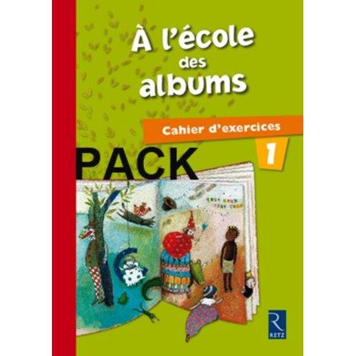 PACK DE 10 ECOLE DES ALBUMS