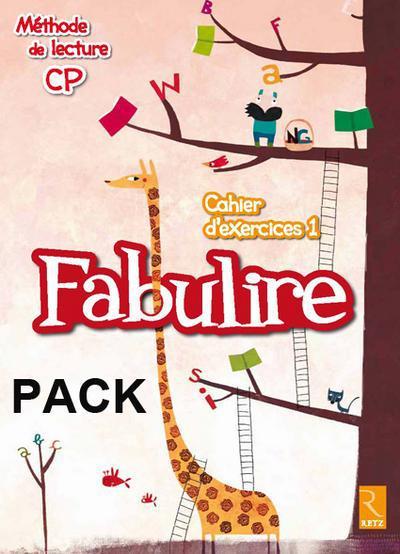 PACK DE 10 FABULIRE CAHIER 1