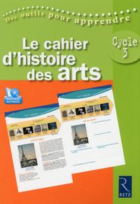 CAHIER D'HISTOIRE DES ARTS +CD