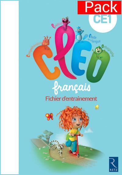 PACK DE 10 CLEO CE1 FICHIER D'ENTRAINEMENT