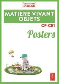 POSTERS MATIERE, VIVANT, OBJETS CP-CE1