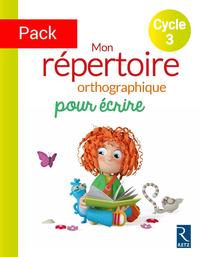 PACK DE 6EX MON REPERTOIRE ORTHOGRAPHIQUE CYCLE 3 CLEO