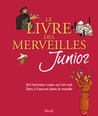 LIVRE DES MERVEILLES JUNIOR - NOUVELLE COUVERTURE