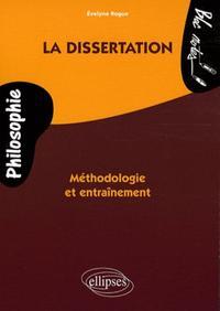 LA DISSERTATION METHODOLOGIE ET ENTRAINEMENT PHILOSOPHIE