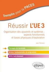 REUSSIR L'UE3 ORGANISATION DES APPAREILS ET SYSTEMES ASPECTS FONCTIONNELS ET BASES PHYSIQUES EXPLORA