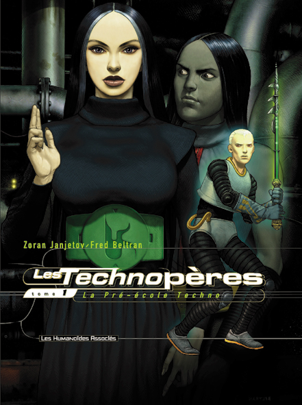 LES TECHNOPERES T01