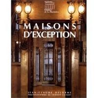MAISONS D'EXCEPTION
