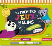 MES PREMIERS JEUX MALINS 4-5 ANS - NOUVELLE EDITION (COLL. GRAINE DE CHAMPION)