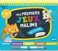 MES PREMIERS JEUX MALINS 3-4 ANS - NOUVELLE EDITION (COLL. GRAINE DE CHAMPION)