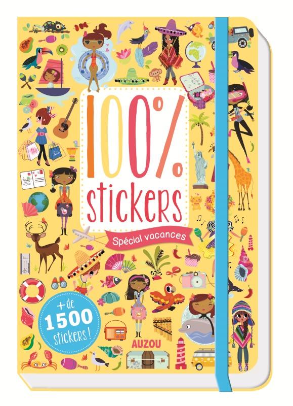 100 STICKERS - SPECIAL VACANCES