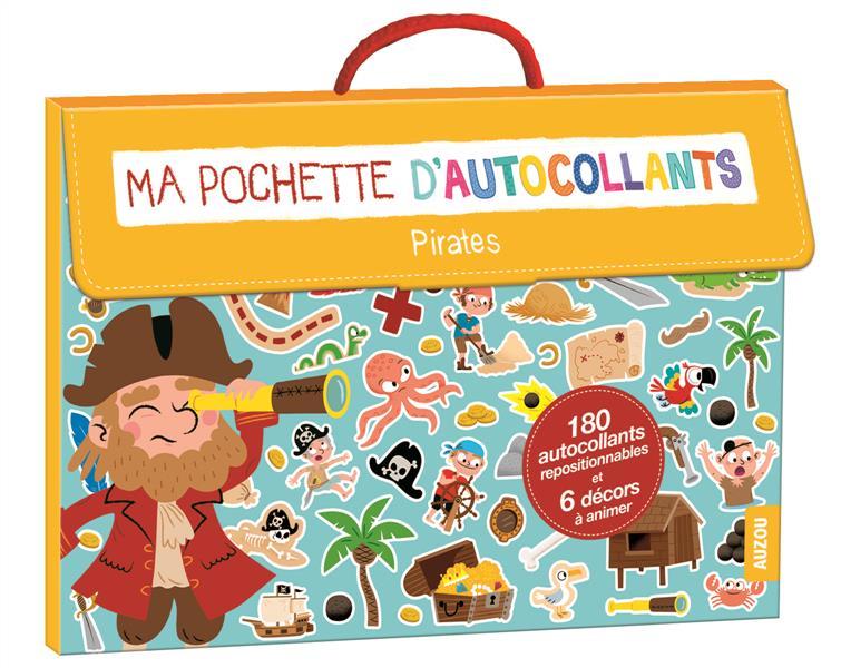 MA POCHETTE D'AUTOCOLLANTS - SPECIAL PIRATES (COLL. MA POCHETTE D'ARTISTE)