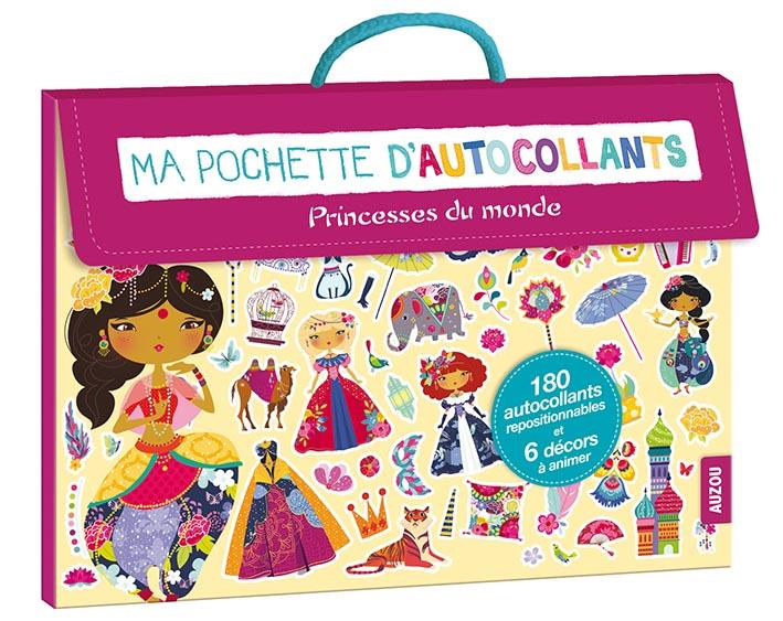 MA POCHETTE D'AUTOCOLLANTS - SPECIAL PRINCESSES DU MONDE (COLL. MA POCHETTE D'AR