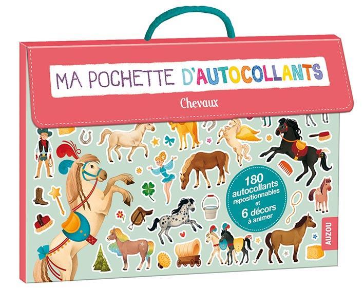 MA POCHETTE D'AUTOCOLLANTS - SPECIAL CHEVAUX (COLL. MA POCHETTE D'ARTISTE)