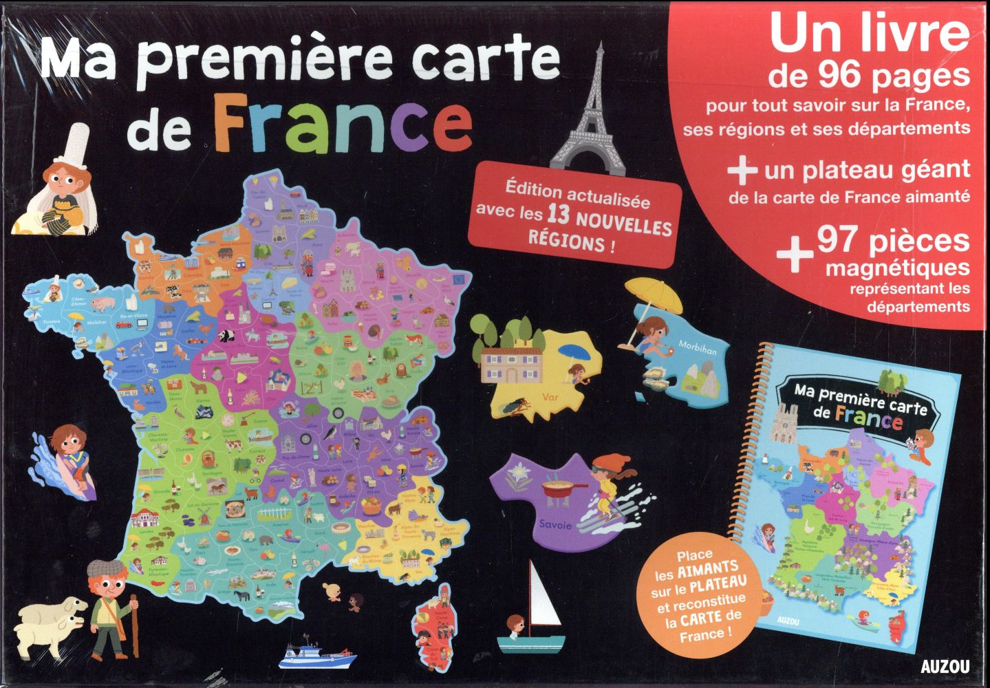 MA PREMIERE CARTE DE FRANCE (COLL. A LA DECOUVERTE DE)