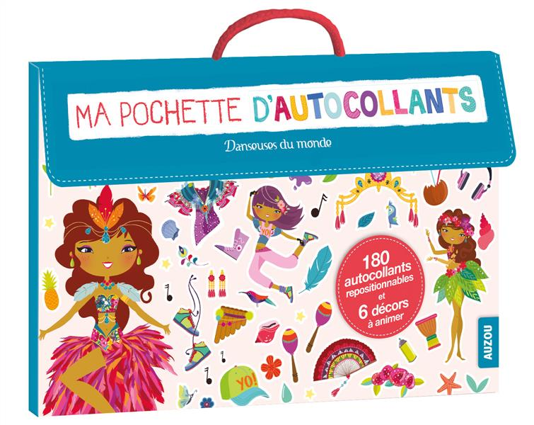 MA POCHETTE D'AUTOCOLLANTS DANSEUSES DU MONDE (COLL. MA POCHETTE D'ARTISTE)