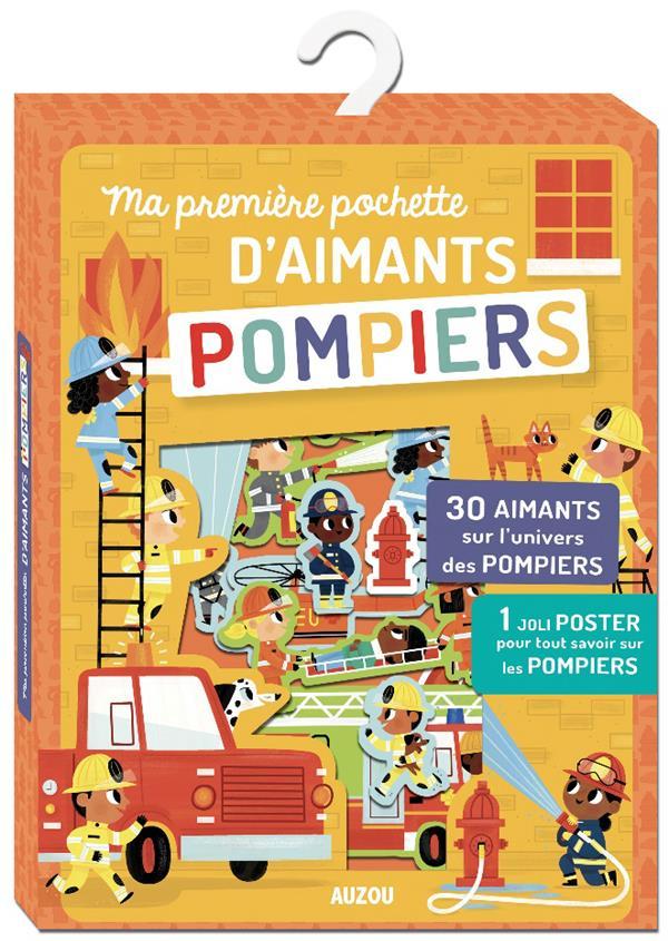 MA PREMIERE POCHETTE D'AIMANTS - POMPIERS